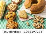 group of food of festa junina ... | Shutterstock . vector #1096197275