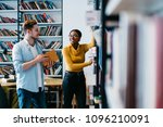 positive african american...   Shutterstock . vector #1096210091