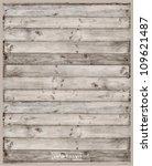 vector wood plank background | Shutterstock .eps vector #109621487