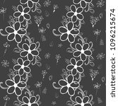 abstract flower seamless... | Shutterstock .eps vector #1096215674