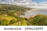 st. lawrence  isle of wight... | Shutterstock . vector #1096218395
