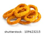 Golden Crispy Onion Rings...