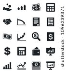 set of vector isolated black... | Shutterstock .eps vector #1096239371