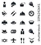 set of vector isolated black... | Shutterstock .eps vector #1096242641