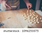 process making of typical...   Shutterstock . vector #1096253375
