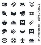 set of vector isolated black... | Shutterstock .eps vector #1096272821