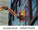 Construction Worker On An...
