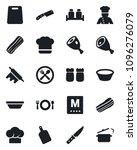 set of vector isolated black... | Shutterstock .eps vector #1096276079