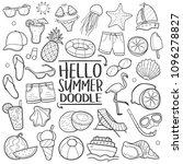 hello summer vacation...   Shutterstock .eps vector #1096278827