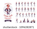 young man ready to use... | Shutterstock .eps vector #1096282871