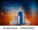 3d Rendering Stock Market...
