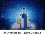 3d rendering stock market... | Shutterstock . vector #1096292885