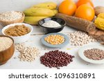 carbohydrates ingredients type | Shutterstock . vector #1096310891