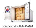 freight transportation from... | Shutterstock . vector #1096316981