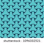 japanese seamless wicker... | Shutterstock .eps vector #1096332521