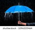 Blue Umbrella Rain