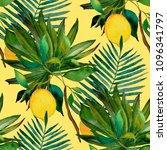 watercolor seamless pattern...   Shutterstock . vector #1096341797