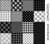 patchwork background with... | Shutterstock . vector #1096342541
