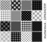 patchwork background with... | Shutterstock . vector #1096342559