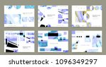 creative covers with abstract... | Shutterstock .eps vector #1096349297