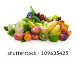 different sorts of vegetables... | Shutterstock . vector #109635425