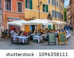 rome  italy   april 30  2018  ... | Shutterstock . vector #1096358111
