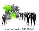 business people | Shutterstock .eps vector #10963660