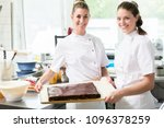 confectioners or pastry makers... | Shutterstock . vector #1096378259