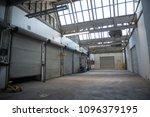 interior loading docks | Shutterstock . vector #1096379195