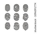 vector illustration set of... | Shutterstock .eps vector #1096391774