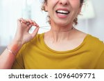 low quality metal. young lady... | Shutterstock . vector #1096409771