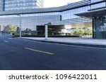 a highway in front of the... | Shutterstock . vector #1096422011