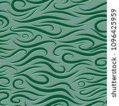 seamless wavy pattern. paper... | Shutterstock .eps vector #1096425959