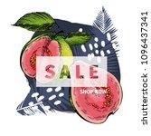vector banner for shop web site.... | Shutterstock .eps vector #1096437341