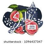 vector banner for shop web site....   Shutterstock .eps vector #1096437347
