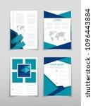 poster brochure flyer design... | Shutterstock .eps vector #1096443884