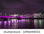 london bridge and river thames | Shutterstock . vector #1096448531