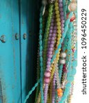 Small photo of bead adorn door
