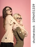 fashion woman body. visage ...   Shutterstock . vector #1096451339