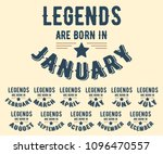legends are born in various... | Shutterstock .eps vector #1096470557