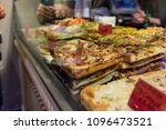 local bakery selling delicious... | Shutterstock . vector #1096473521