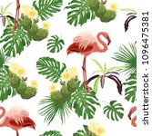 seamless vector pattern with...   Shutterstock .eps vector #1096475381