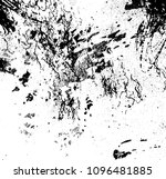 black texture grunge vector... | Shutterstock .eps vector #1096481885