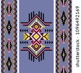 tribal kilim  abstract... | Shutterstock .eps vector #1096492169