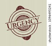 red urgency distress grunge... | Shutterstock .eps vector #1096495241