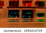 blurry motion art of people...   Shutterstock . vector #1096514729