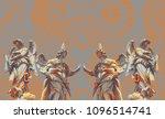 digital art made with photo...   Shutterstock . vector #1096514741