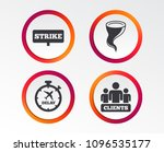 strike icon. storm bad weather... | Shutterstock .eps vector #1096535177