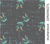 cute beautiful seamless floral...   Shutterstock .eps vector #1096540271