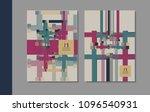 vector minimalistic cover...   Shutterstock .eps vector #1096540931